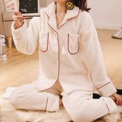 장미꽃 파자마 여성잠옷 세트 CH1506956