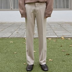 SEMI BOOTS LONG SLACKS_LIGHT BEIGE
