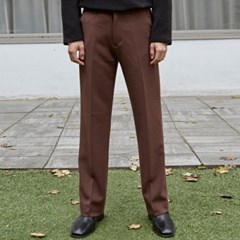 SEMI BOOTS LONG SLACKS_CHOCO