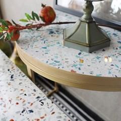 반달 사이드 테이블