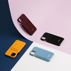 FENNEC LEATHER iPHONE 11 CARD CASE(6COLOR)
