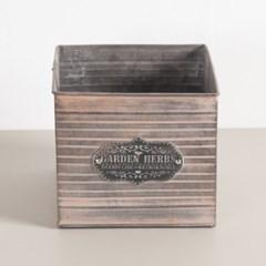 가든철재 화분 18x16cm 조화 인테리어 소품 FPOTFT_(1587407)