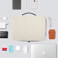 4S 클러치백 노트북 맥북 아이패드 파우치 IVORY (13/14/15.6인치)
