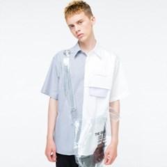 [더그레이티스트] 18 summer 03 하프하프 셔츠
