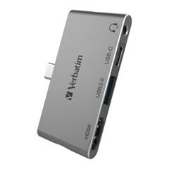 버바팀 타입C HDMI USB 3.0 PD 3.0 100W 미니 고속 충전 허브