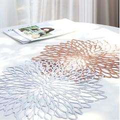 연꽃 플라워 테이블 매트