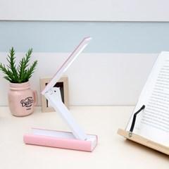 휴대용 LED스탠드 (핑크)