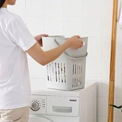 다용도 세탁 수납 바구니1개(색상랜덤)