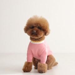 데이지 포근 니트 - 핑크