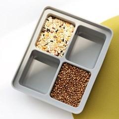 실리콘 다용도 냉동용기 (아이스큐브,얼음틀, 양념소분) ver.2