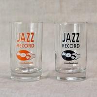 [카멜앤오아시스] Jazz Record 재즈 레코드 유리컵