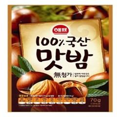 사조 100%국내산맛밤70gx10봉