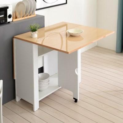 엘사 하이그로시 접이식(확장형) 식탁 테이블