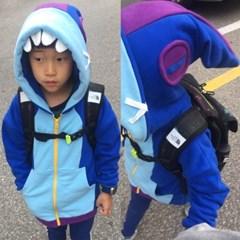 리) 브롤 상어레온 아동 밍크점퍼