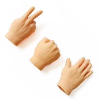가위바위보 미니 손가락 장난감