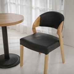 W383 업소용 카페 인테리어 디자인 목재 우드 체어 의자