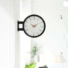 [타임데코] 모던 양면벽시계 A7