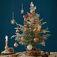 크리스마스 미니트리 풀세트 로즈골드