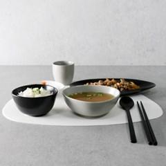 스톤 실리콘 식탁매트 3color 1p
