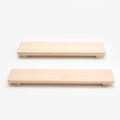 피톤치드 편백나무 초밥 도마 2size