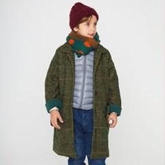싱글 버튼 라글란 아동 코트 IB4WC050U