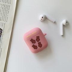 슝슝 모모베어 디자인 에어팟 케이스