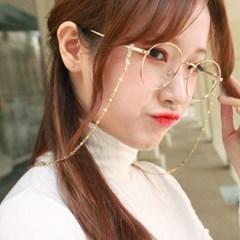 골드펄 미러체인 안경줄