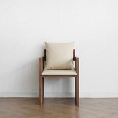 [헤리티지월넛] G형 의자 아이보리_(1412866)