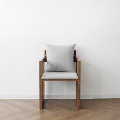 [헤리티지월넛] G1형 의자 웜그레이_(1412860)