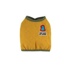 [monchouchou] Alaska Crew Padded Vest_Yellow
