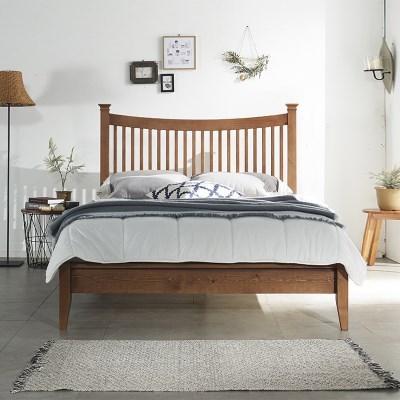 필우드가구 도브 원목 슈퍼싱글 침대