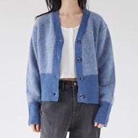 angora wool blend cardigan (2colors)_(1378022)
