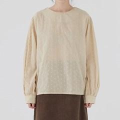 vintage floral blouse (2colors)_(1378027)