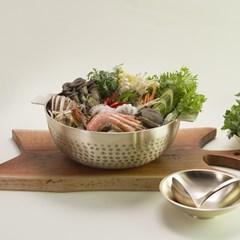 한놋 유기 샤브샤브 냄비 (2 type) 유기그릇 놋그릇