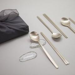 한놋 유기수저 모음전 (5 type) 유기그릇 놋그릇