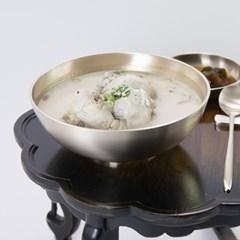 한놋 유기 반달면기 유기그릇 세숫대야냉면기 놋그릇