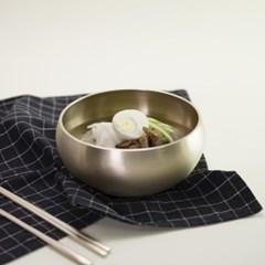 한놋 유기 옥냉면기 유기그릇 놋그릇
