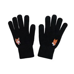 black corgi gloves
