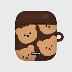 Dot big bear-brown(Hard air pods)_(1369730)
