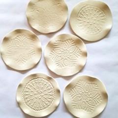 [텐텐클래스] (홍대) 레이스접시 만들기