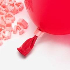 풍선 자동 묶음장치 100개입 [핑크] (풍선쉽게묶기/풍선_(11868422)