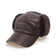 DFM KIDS BURGUNDY LEA EARFLIP CAMP-CAP