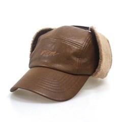 DFM KIDS BROWN LEA EARFLIP CAMP-CAP
