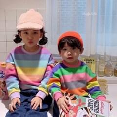 데) 무지개 아동 맨투맨