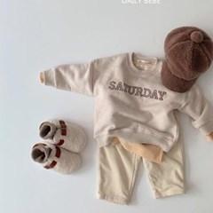 데) 토요일 아동 맨투맨