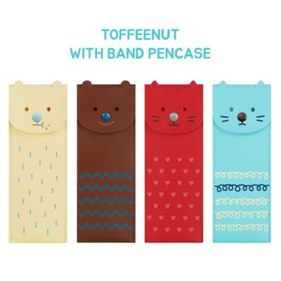 TOFFEENUT WITH BAND PENCASE_(907954)
