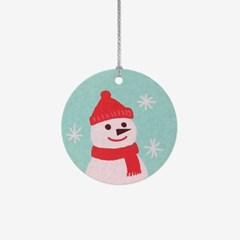 크리스마스 눈사람 택(10개)