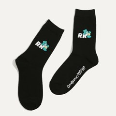 CARE BEARS X RONRON DAILY SOCKS BLACK_(1292489)
