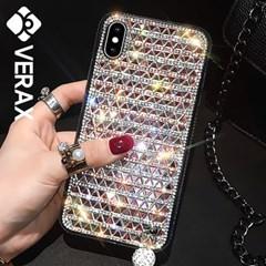 아이폰6 크리스탈 큐빅 유니크 젤리 케이스 P346_(2068455)