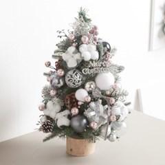 글로시목화그레이 트리 45cmP 크리스마스 미니 TRHMES_(1596605)
